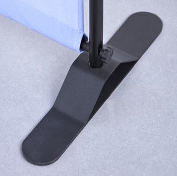 pied acier du maxi-telescopic