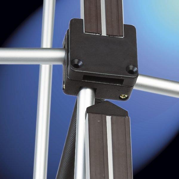 fixation barre magnétique stand parapluie B
