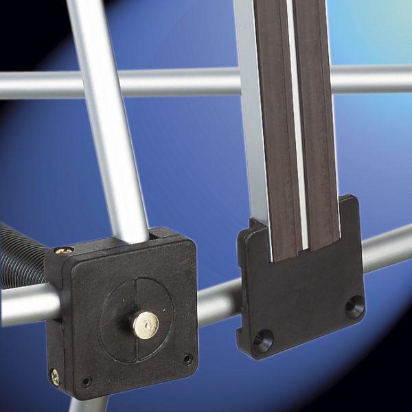fixation barre magnétique stand parapluie