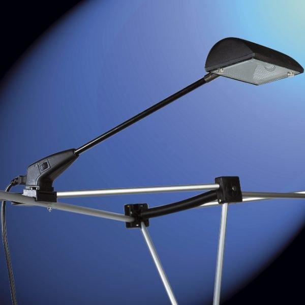 fixation des spots sur stand parapluie B